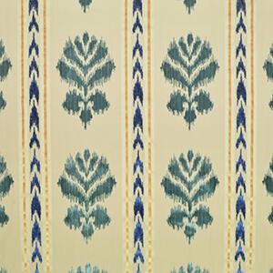 Florentine Velvet Turquoise / Cobalt