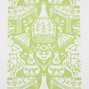 The Vase Lime Green