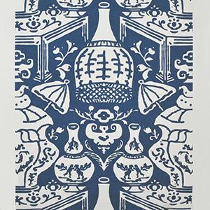 The Vase Navy Blue