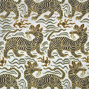 Tibet Wallpaper Silver