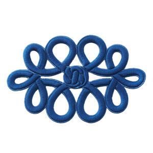 Shang Knot Cobalt