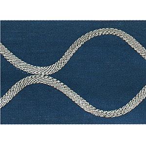 Ogee Applique Navy