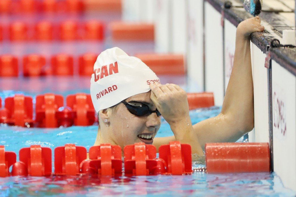 Aurélie Rivard won three gold medals for Canada at the Rio 2016 Paralympics ©Getty Images