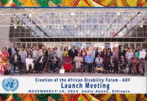 Launch of the 1st Africa Disability Forum
