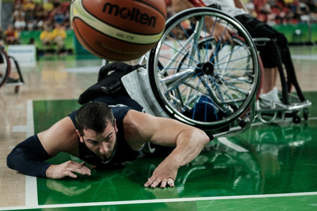 Toshiro Muto wants full venues for the Tokyo 2020 wheelchair basketball tournaments ©Getty Images