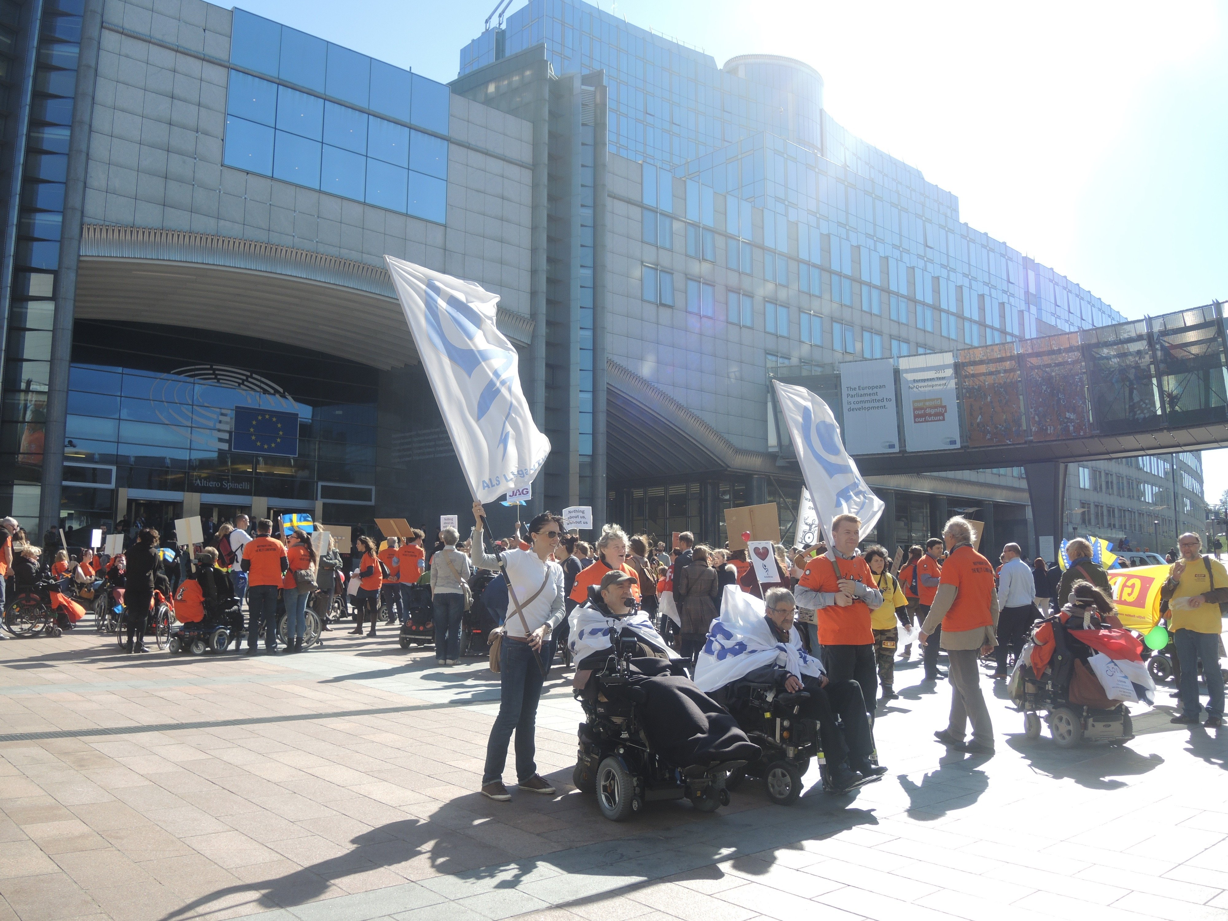 7th ENIL freedom Drive, Brussels