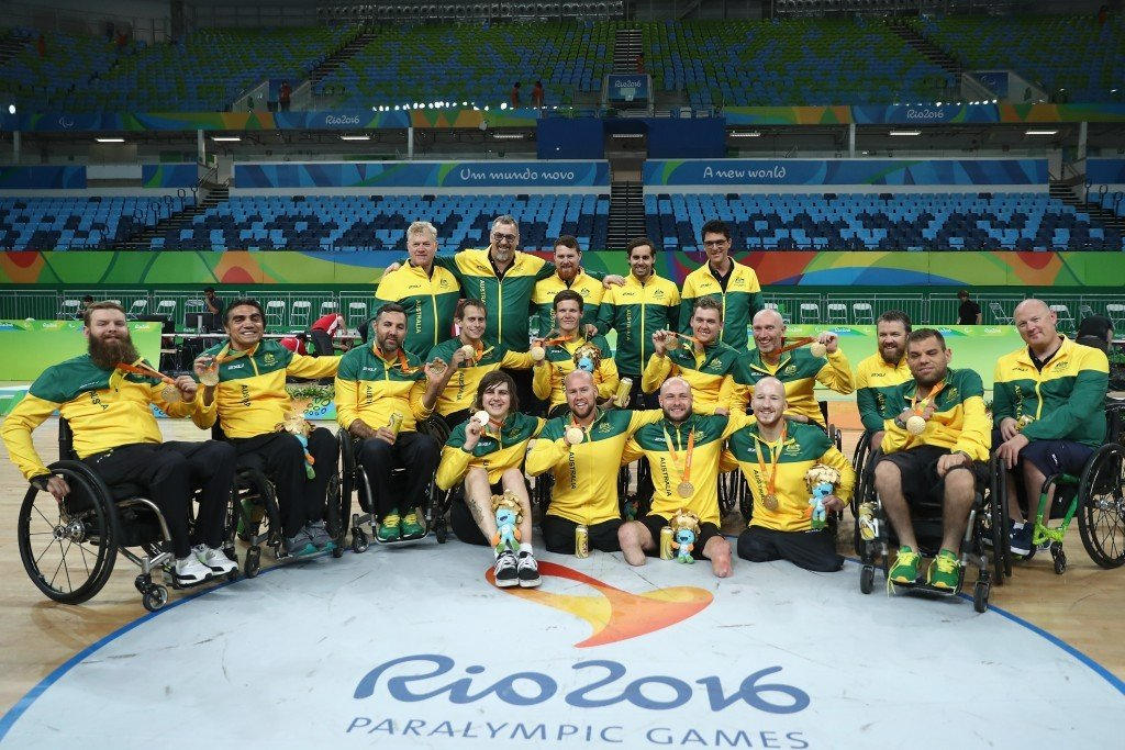 Australia are the new number one side in the world after winning the Paralympics ©Getty Images