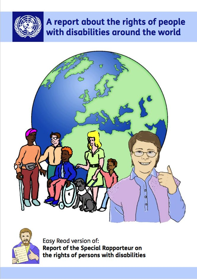 first report on the right to social protection for persons with disabilities