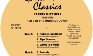 Crosstalk reissues Parris Mitchell's ghetto house classic Life in the Underground