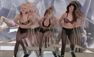 Capracara flips retro workout videos in the clip for garage jam 'Ronin'