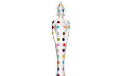 Damien Hirst's statue for the 2013 BRIT Awards unveiled
