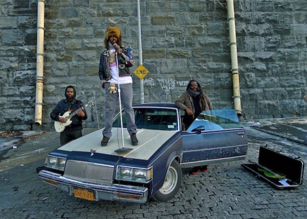 Murs, Sacha Jenkins, Bad Brains' Darryl Jenkins collaborate as White Mandingos
