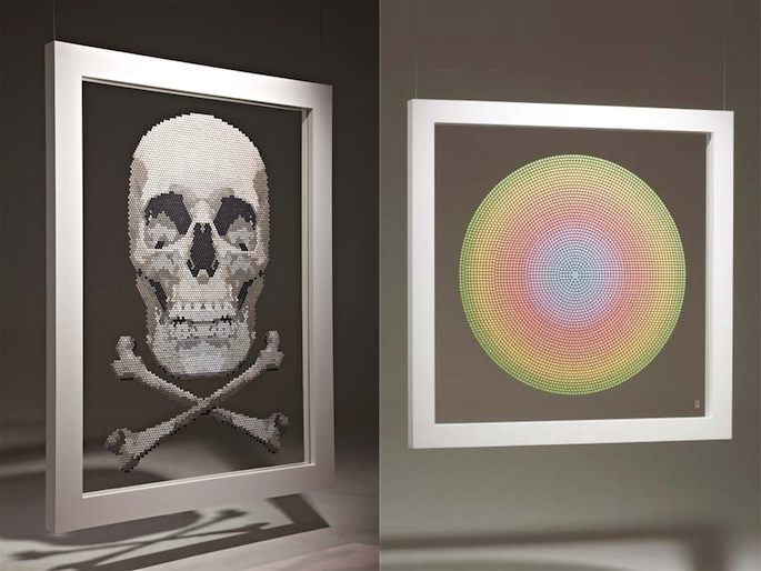 Designer of Ministry of Sound logo puts £175,000 worth of ecstasy on display in London gallery