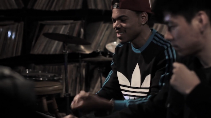 Watch Chance the Rapper and Nosaj Thing record Acid Rap's 'Paranoia'