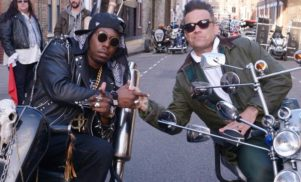 More details emerge of Dizzee Rascal's new album The Fifth; check shots of his bizarre new video with Robbie Williams, 'Goin' Crazy'