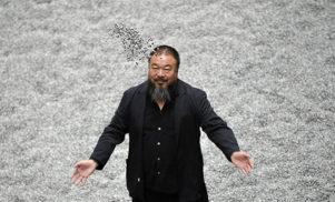 Chinese artist Ai Weiwei shares brilliant video for metallic 'Dumbass'