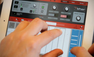 The team behind Reason make their flagship Thor soft synth available for iPad