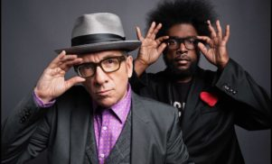 Listen to Elvis Costello and The Roots team up on 'Walk Us UPTOWN'