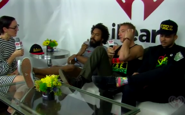 Is Major Lazer's Lollapalooza interview the most awkward of