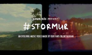 Sigur Rós share ever-evolving, Instagram-powered video for 'stormur'