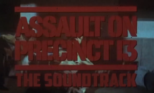 Death Waltz to reissue John Carpenter's Assault On Precinct 13 score