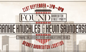 FOUND reveals secret Shoreditch Street Party and After Party locations