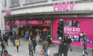 HMV to hand out free vinyl at next week's London reopening