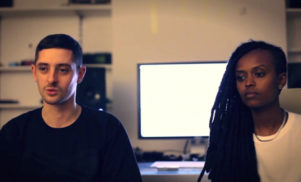 In the studio with Bok Bok and Kelela