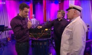 The BBC Radiophonic Workshop were on The One Show last night and it was brilliant