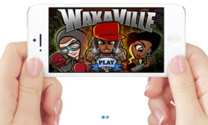 Waka Flocka Flame unleashes his inner zombie hunter in mobile game Wakaville