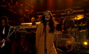 Watch M.I.A perform 'Come Walk With Me' with The Roots