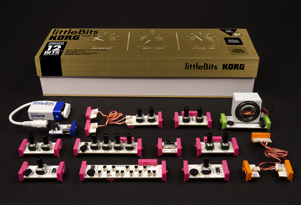 Lego meets modular synthesis? Check out littleBits and Korg's neat new synthesiser kit