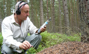 Legendary sound recordist Chris Watson set for BBC interview with Sir David Attenborough