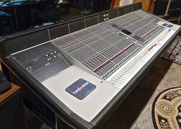 dr dre 39 s death row era mixing console for sale fact magazine music news new music. Black Bedroom Furniture Sets. Home Design Ideas