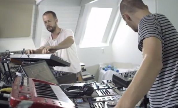 Watch a gorgeous 23-minute live jam by Swedish group Minilogue
