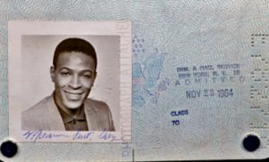 Marvin Gaye's 1964 passport found inside an album bought for 50 cents