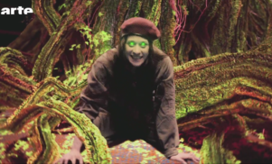 Watch Fiona Apple's villainous turn in a French superhero show