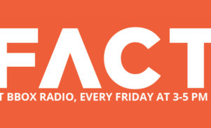FACT's weekly radio show returns on Friday, with special guest suicideyear