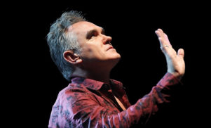 Morrissey dropped by his label just three weeks after album release