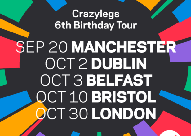 Crazylegs celebrates 6th birthday with tour, shares Gage's brutal remix of Ziro's 'Coded'