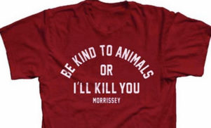 """Be kind to animals or I'll kill you"": Morrissey's at it again"