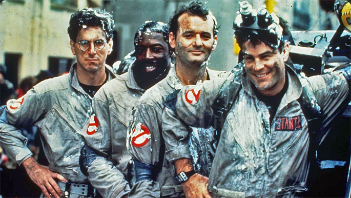 Ghostbusters Theme reissued on marshmallow-scented vinyl for 30th anniversary