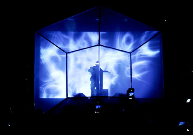 Take a look inside Flying Lotus' hi-tech performance cube