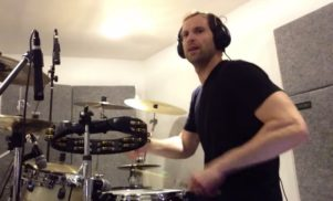 Chelsea goalkeeper Petr Cech has been uploading his drum covers of Foo Fighters and Coldplay to YouTube