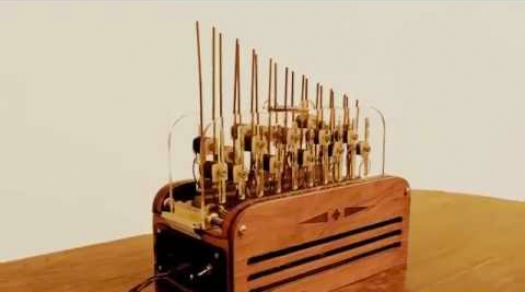 Check out this MIDI-controlled organ the size of a toaster