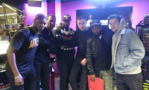Hear the Butterz crew take over Benji B's Radio 1 show