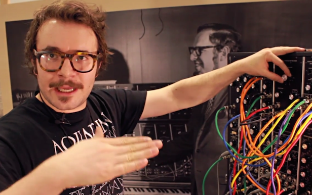 Watch techno producer Patricia demo Moog's new Model 15 Modular Synth