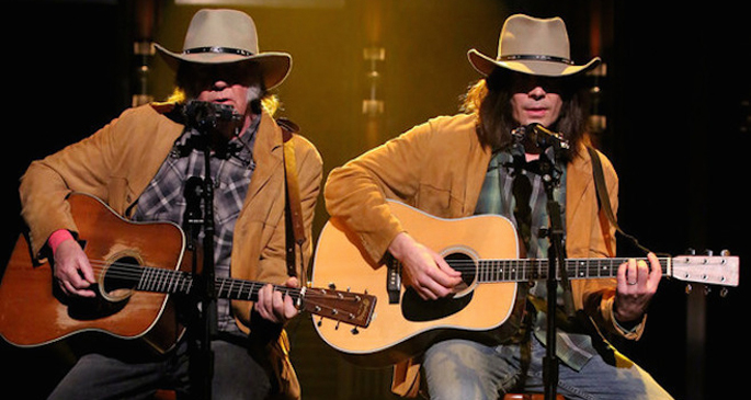 Watch Neil Young perform 'Old Man' with Jimmy Fallon on The Tonight Show