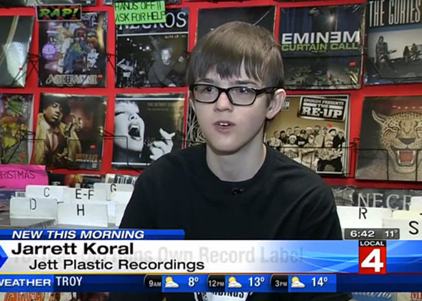 Meet the Detroit 16-year-old running his own vinyl record label