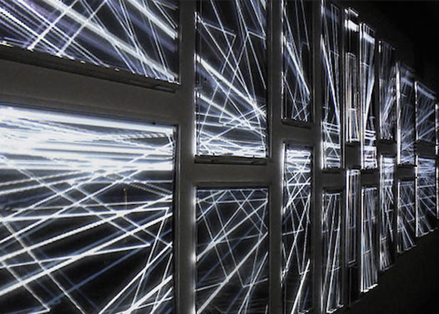 Watch A Tron Like Nightclub Light Art Installation